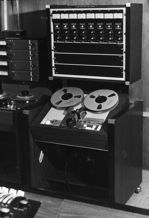 MCI 8-Track Tape Machine with 3M Transport