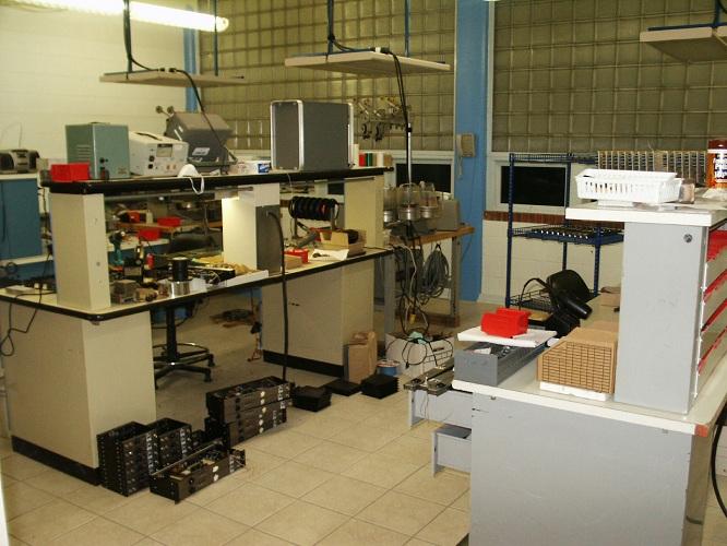 AMI, Inc. electronics manufacturing bench. Photo courtesy of AMI, Inc.