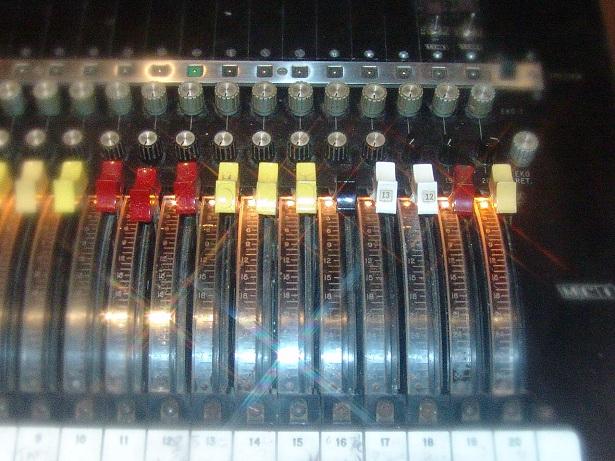 MCI - Criteria Studio C Recording Console