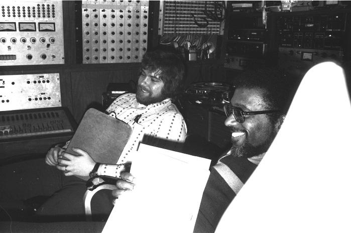 Esmond Edwards and Skip Juried