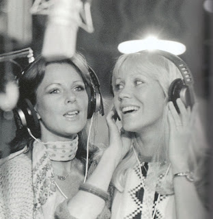 ABBA in Polar Studios Stockholm, Sweden