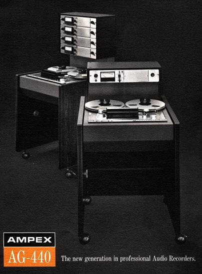 Ampex AG-440B Tape Machine