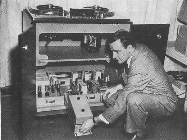 Ampex Model 200 Electronics