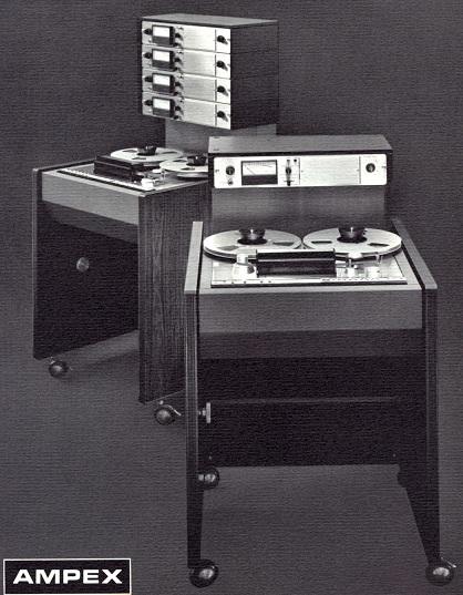 AMPEX AG-440 Tape Machine