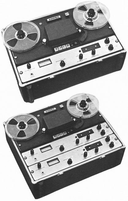 AMPEX AG-500_and_AL-500 Tape Machine