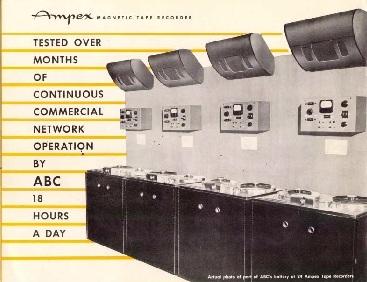 Recording Equipment Literature and Brochures