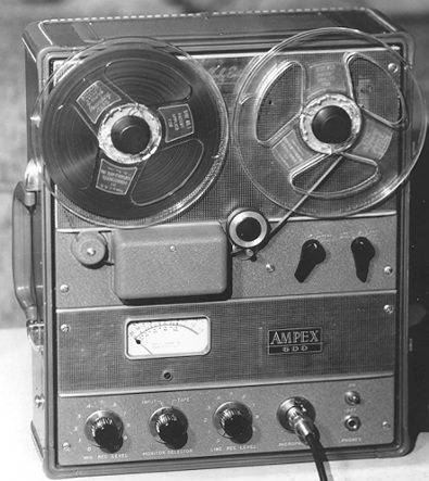 AMPEX Model 600 Tape Machine