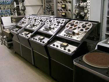 Ampex Tape Machines