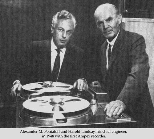 Alexander M. Poniatoff and Harold Lindsay