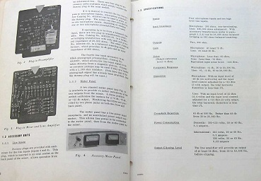 Recording Equipment Manuals