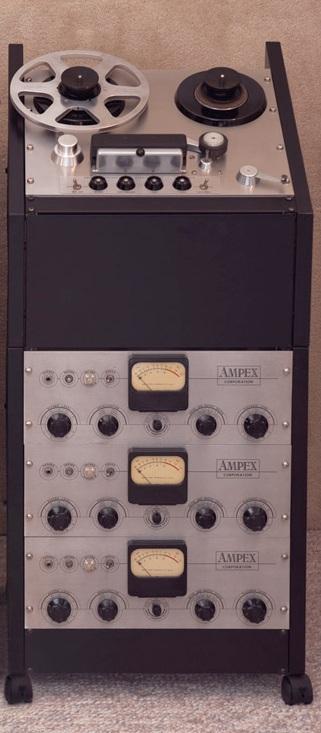 Ampex 350 Tape Recorder