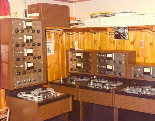 Joel's 1st studio - Parkway Recording Studio 1972