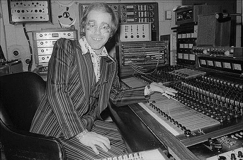 AMPEX MM-1000 with Elton John