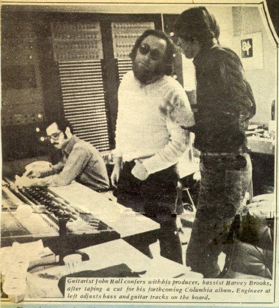 Glen Kolotkin, Harvey Brooks and John Hall
