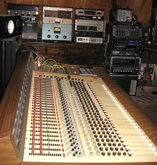 MCI JH-428 at Austin Music Studios