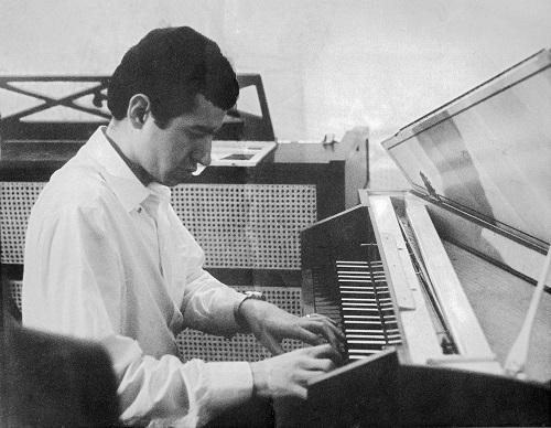 Jim Reeves at Harpsichord Studio