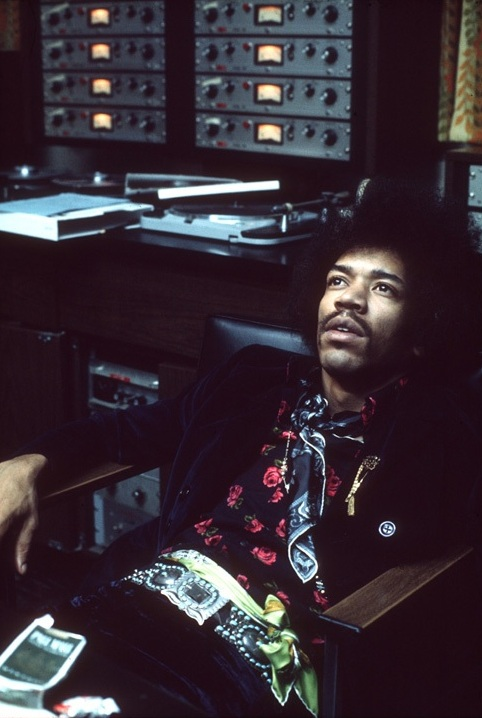 Jimi Hendrix with Scully 280 Tape Machines