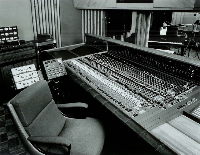 MCI JH-538D Console at Charley Pride's Cecca Sound Studios, Dallas Texas