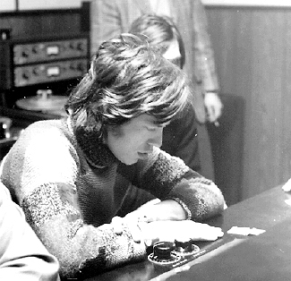 Mick Jagger with Scully 280 Tape Machines