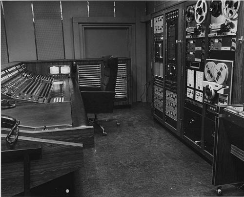 Mirasound Studios - New Control Room - circa 1970
