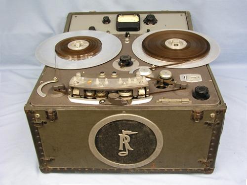 Rangertone tape recorder