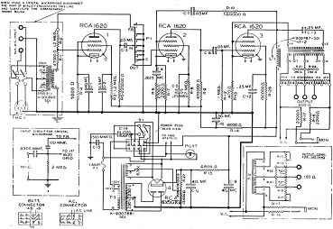 Recording Equipment Schematics