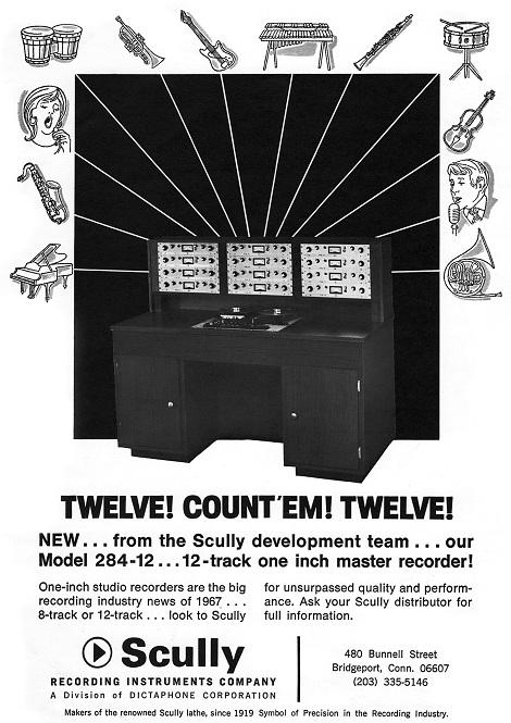 Scully Model 284-12 Tape Machine
