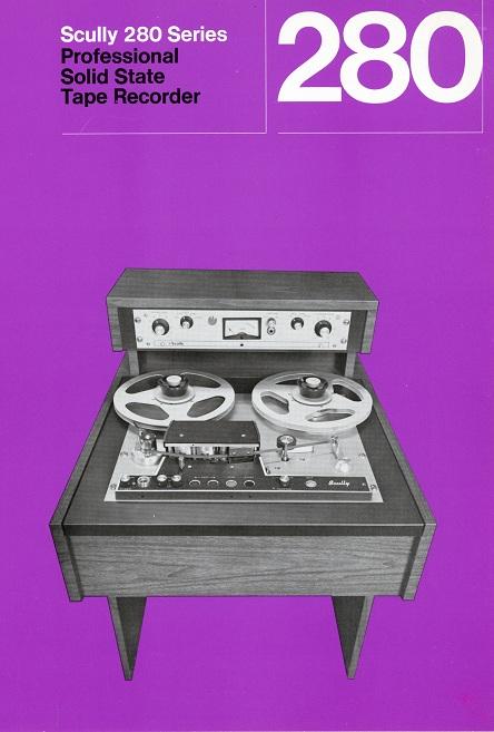 Scully 280 Tape Machine