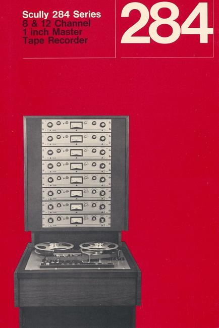 Scully 284 Tape Machine