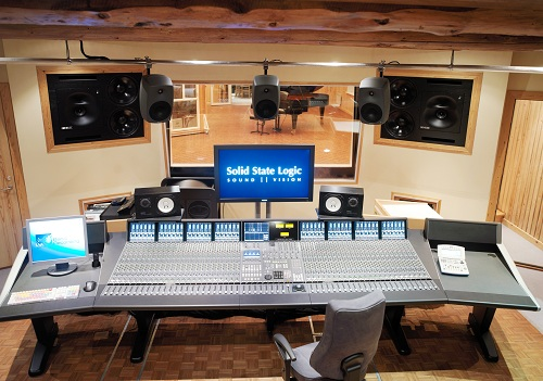 Solid state logic duality recording console for Small recording studio plans