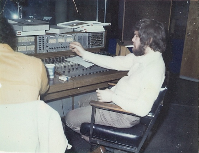 Skip Juried in Sound Center Studios, NYC Control Room