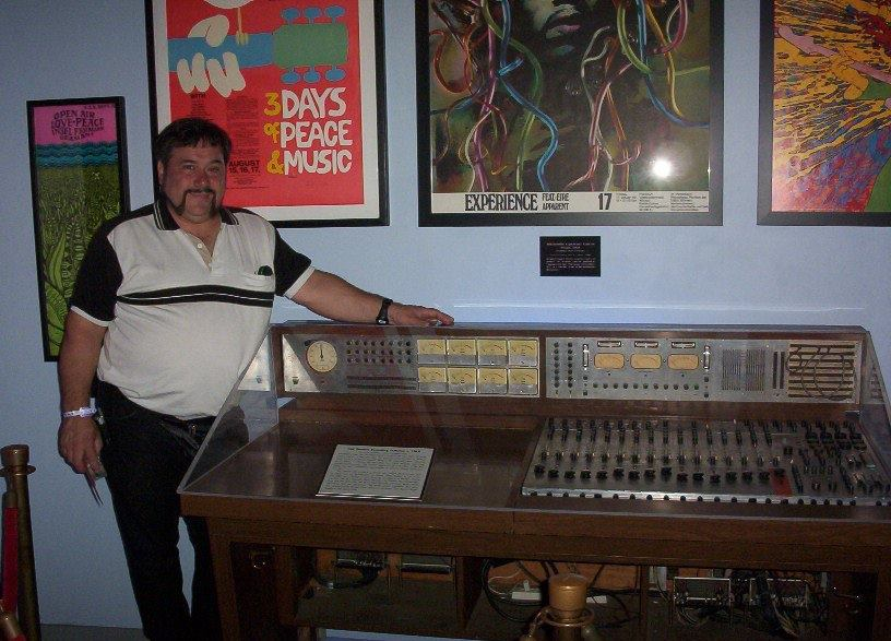Frank K Krumal with Sound Center Console