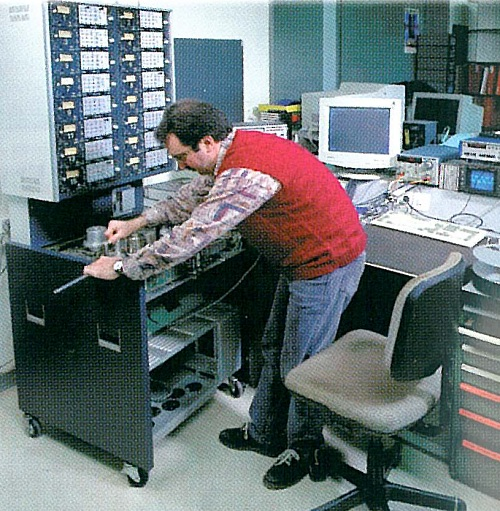 Studer A80 during assembly