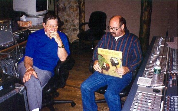 Teo Macero and Glen Kolotkin