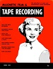 Tape Recording - April 1954