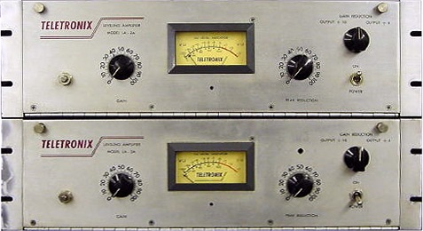 Teletronix LA-2A Leveling Amplifier - Pair
