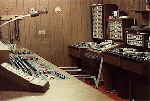 Tera Shirma Studios - Control Room B with Scully 280 Tape Machines