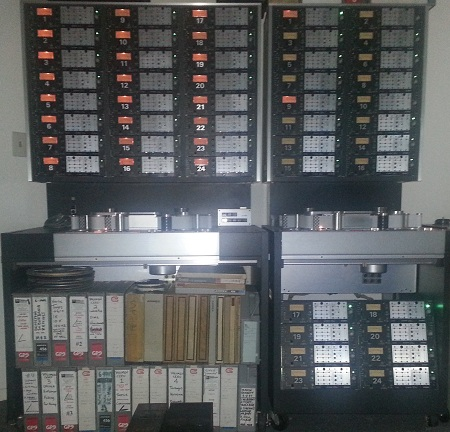 Studer A80 24 Track Tape Machines