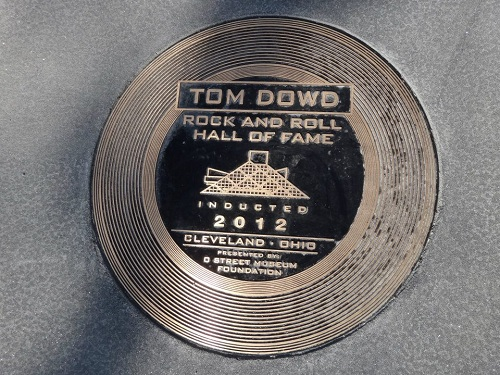 Tom Dowd Rock and Roll Hall of Fame 2012 Induction