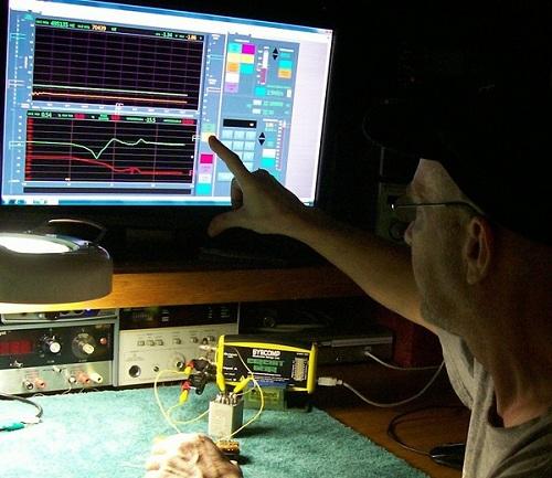 Tube Equipment Corporation Audio Analyzer