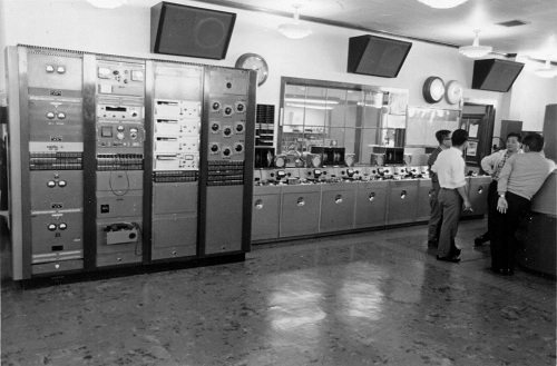 AMPEX Model 300 Tape Machines - Voice of America, March 1968