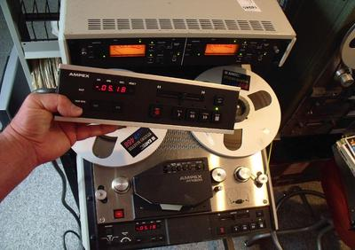 Ampex ATR-800 wired remote