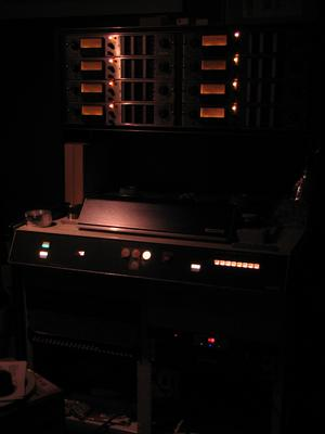 Aside from my appreciation for the story of how the Ampex MM-1000 came to be, and for the idiosyncrasies of its robust design, I just love how it looks.  The MM-1000 has an undeniable presence.