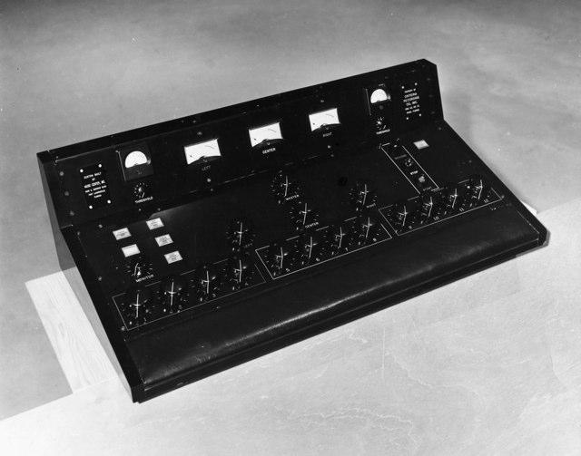 MCI Prototypes and Custom Recording Consoles