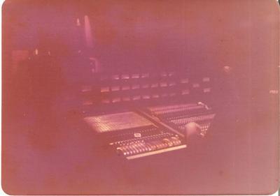 Criteria Studio C console. July 1976