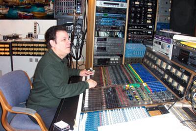 Joel Katz with Gabe Roth of Daptone Records