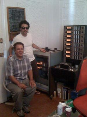 Joel Katz with Gabe Roth of Daptone Records