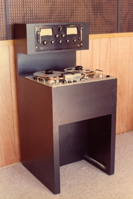 MCI 2-Track Tape Machine with AMPEX Transport