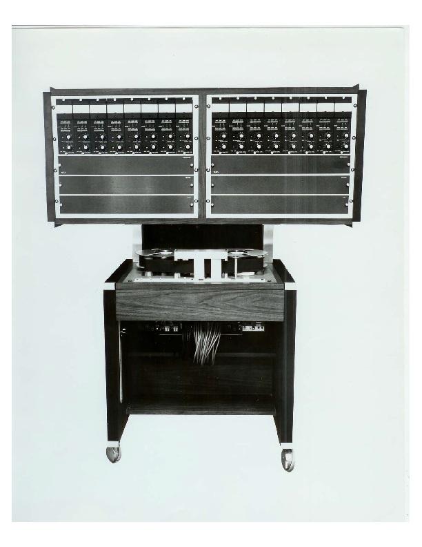 MCI 16-Track Tape Machine (Early)