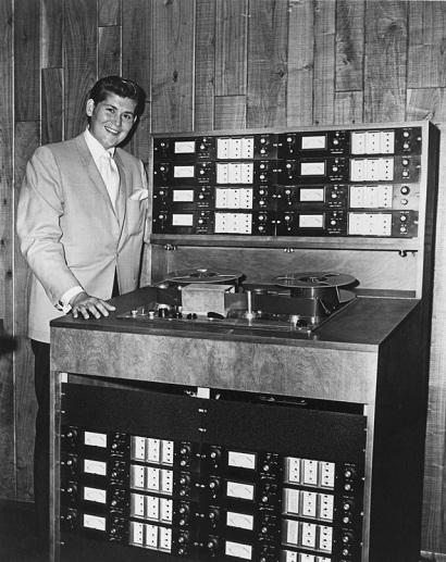 MCI 16-Track Tape Machine with Wayne Newton